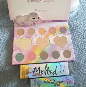 Too Faced Unicorn Tears and Marvycorn Palette